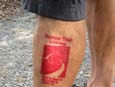 I love the Heysen Trail so much… I got the tattoo!