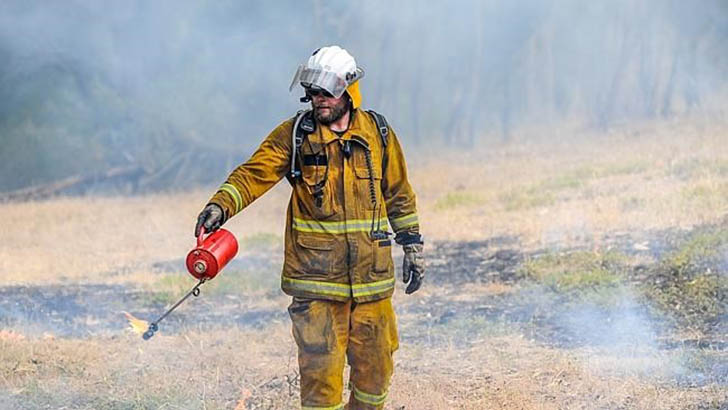 Prescribed burn to cause temporary closure of the Heysen Trail and tracks in the Cleland Conservation Park
