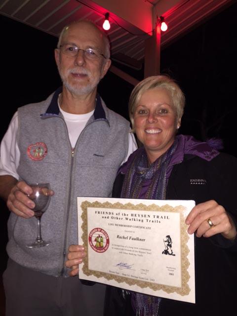 Welcoming our 1,000th member, Rachel Faulkner, Friends of the Heysen Trail