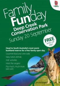Deep Creek Family Fun Day - 20 September 2015