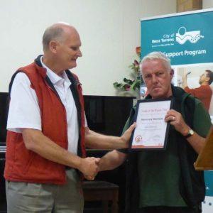 David Rattray, Honorary Member 2016