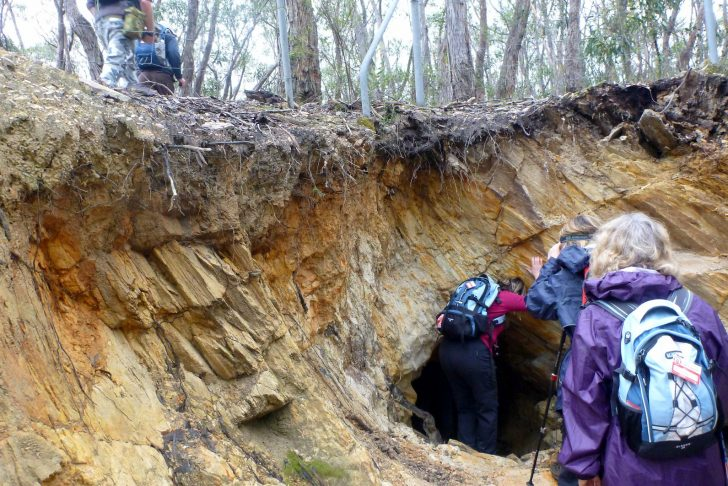 Heysen Trail reopened at the Jupiter Creek diggings.
