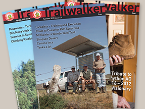 The Friends of the Heysen Trail's Trailwalker magazine