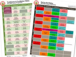 Walk Program calendar 287