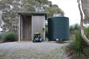 Water tank and toilet
