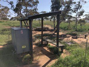 Mount Elm campsite with new platform