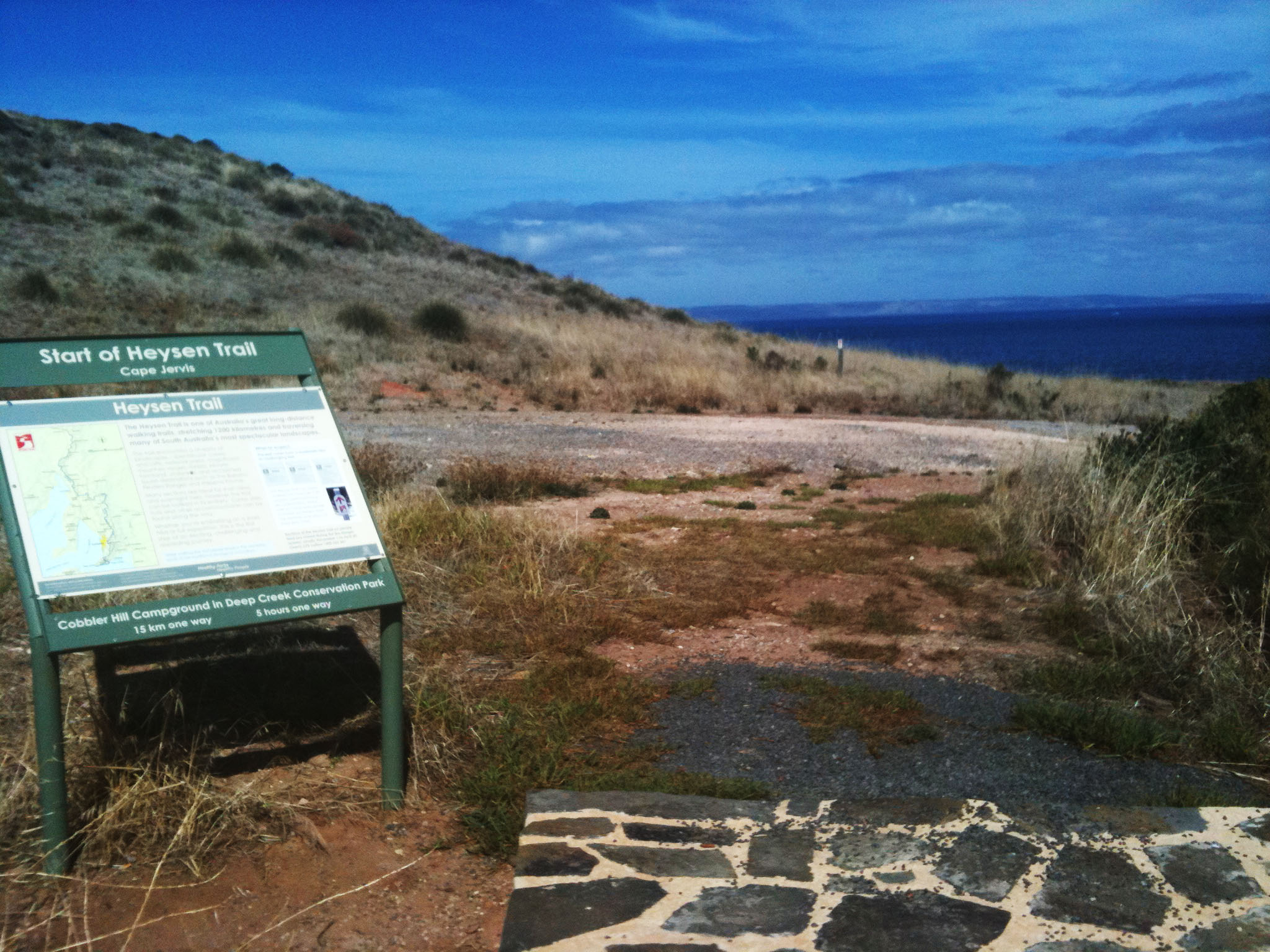 cape jervis trailhead the friends of the heysen trail. Black Bedroom Furniture Sets. Home Design Ideas