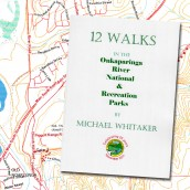 12 Walks in the Onkaparinga River National & Recreation Parks cover