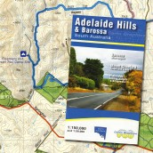 Adelaide Hills & Barossa Valley map cover
