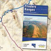 Flinders Ranges map cover