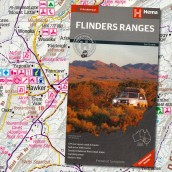 Flinders Ranges map cover