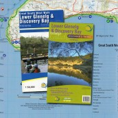 Great South West Walk + Lower Glenelg & Discovery Bay map cover