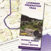 Lavender Federation Trail, Map 1, Murray Bridge to Mount Beevor cover