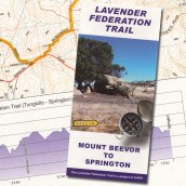 Lavender Federation Trail, Map 2, -Mount Beevor to Springton cover