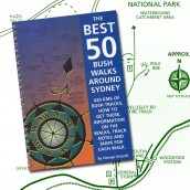The Best 50 Bushwalks Around Sydney cover