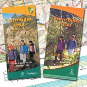 Yurrebilla Trail Bushwalking Map + Hikers Guide
