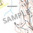 sample Horsnell Gully Conservation Park topographic map