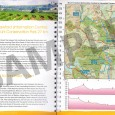 sample of Heysen Trail Southern Guidebook - 3, map