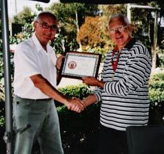 Barry Finn, new Honorary Member