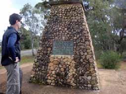 A Heysen Highlight – Eyre Memorial, Crystal Brook