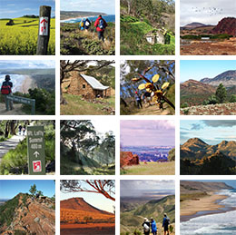 Compare 60 Heysen Trail sections to walk