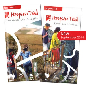 Heysen Trail new September 2014 map sheets no bg