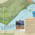 Heysen Trail sheet map 1, Cape Jervis to Kuitpo Forest detail example