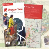 Heysen Trail sheet map 2, Kuitpo Forest to Tanunda
