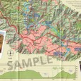 Heysen Trail sheet map 2, Kuitpo Forest to Tanunda detail example