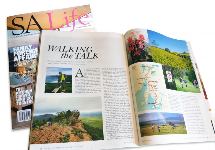Walking the Talk - SA Life magazine, February 2015