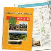 Exploring the Barossa - book cover