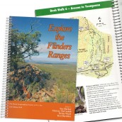 Exploring the Flinders Ranges - book cover