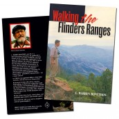 Walking the Flinders Ranges - book cover