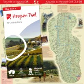Heysen Trail sheet map 3, Tanunda to Burra
