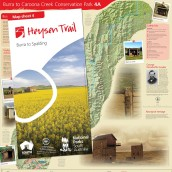 Heysen Trail sheet map 4, Burra to Spalding