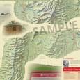 Heysen Trail sheet map 4, Burra to Spalding detail