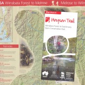 Heysen Trail sheet map 6, Wirrabara Forest to Dutchmans Stern Conservation Park