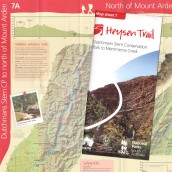 Heysen Trail sheet map 7, Dutchmans Stern Conservation Park to Mernmerna Creek