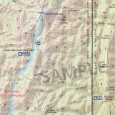 Heysen Trail sheet map 7, Dutchmans Stern Conservation Park to Mernmerna Creek detail