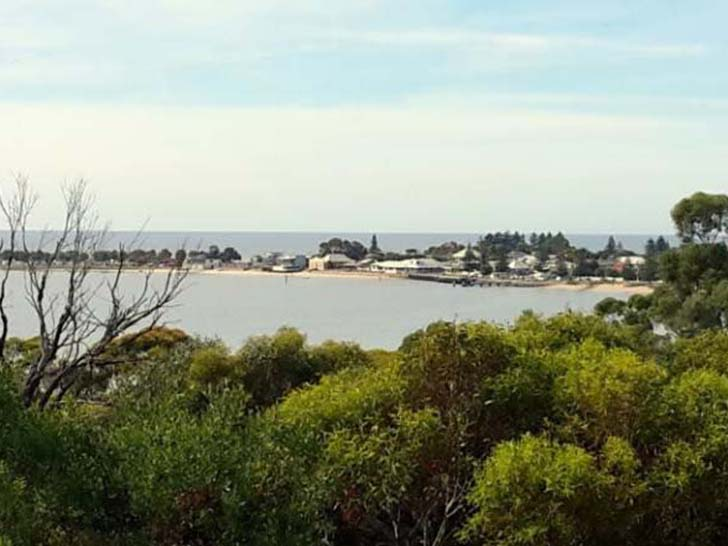 Views back to Port Vincent, official opening walk