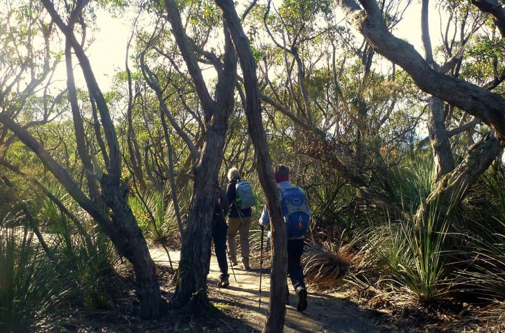 Re-Route of Heysen Trail near Trig Campsite to Deep Creek Waterfall