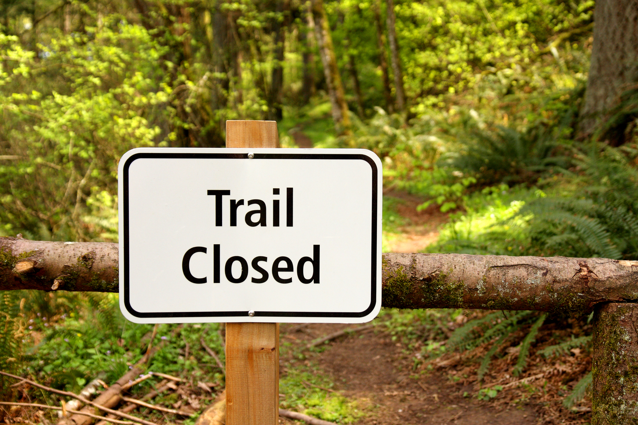 Temporary closure of the Heysen Trail in the Montacute Conservation Park, April 2018