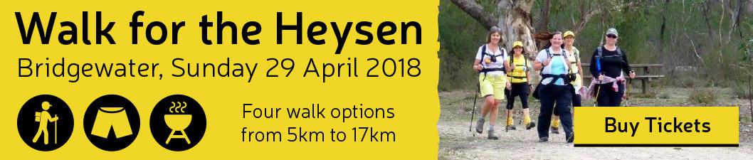 Walk for the Heysen 2018